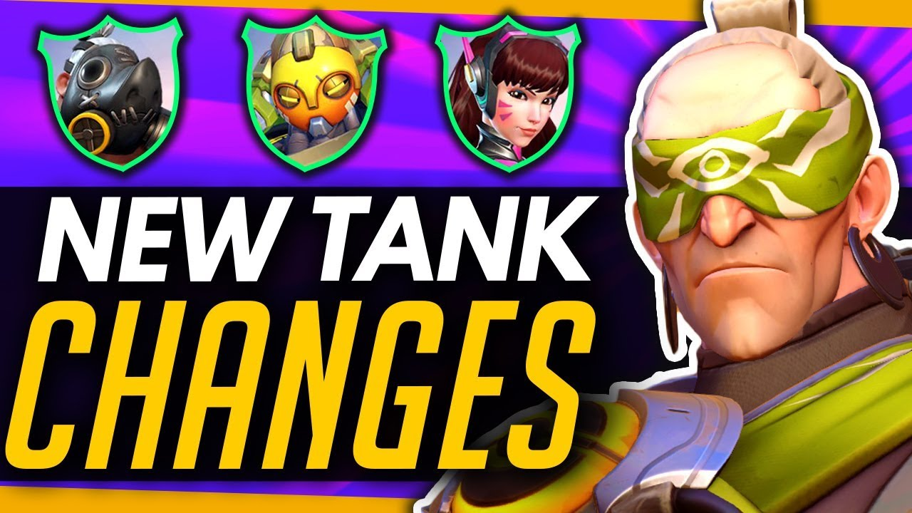 Overwatch | BIG Patch Coming - What To Expect With The Tank Meta! thumbnail