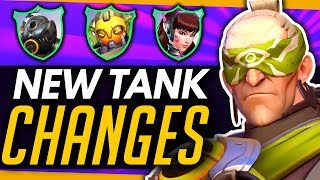 Overwatch   BIG Patch Coming - What To Expect With The Tank Meta!