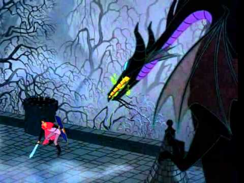 Sleeping Beauty - Philip Fights The Dragon - Kiss From a Rose