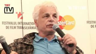 TIFF 2011 interviu cu Michele Placido, comisarul Catani (5 iunie)