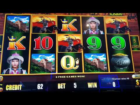 🤑 BIG WINS BUFFALO GOLD  GENGHIS KHAN SAHARA LIGHTNING LINK DRAGON LINK SLOTS POKIES WINS
