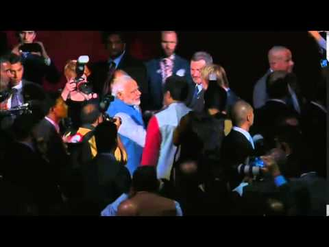 PM Is Greeted By An Astounding Welcome At The Allphones Arena, Sydney