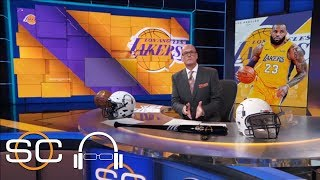 Scott Van Pelt on LeBron James joining Lakers: