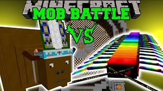 CHIEF THUNDERHOOVES VS RAINBOW CENTIPEDE - Minecraft Mob Battles - Minecraft Mods
