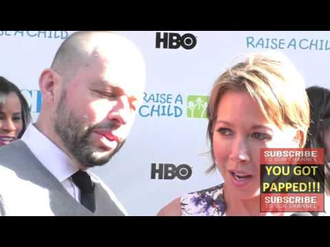 Jon Cryer and Lisa Joyner at the 4th Annual RaiseAChild HONORS Gala at Jim Henson Studios in Hollywo