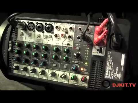 yamaha stagepas 400 pa system namm 2013 with djkit tv. Black Bedroom Furniture Sets. Home Design Ideas
