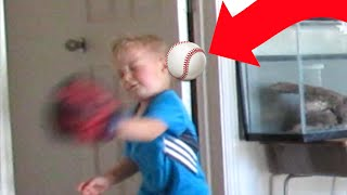 ⚾MOM HITS KID IN THE FACE WITH BASEBALL😲 | 👩MOM FAIL | BASEBALL | DYCHES FAM