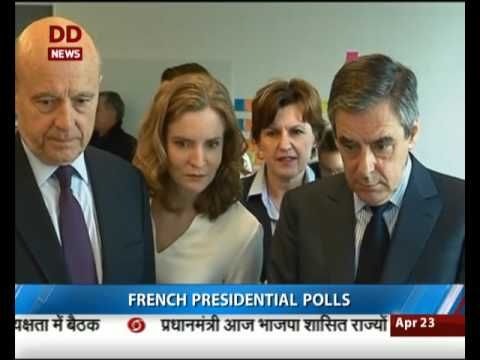 France: 1st round of Presidential polls begins