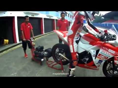 best of the best cbr 250 sound Racing bike (wawan hermawan)