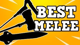 TOP 5 *MUST HAVE* MELEE WEAPONS | BEST Weapons in fortnite Save The World