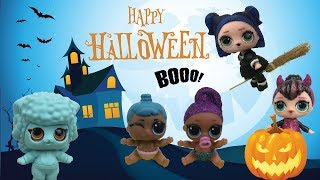  L.O.L. Surprise! | Halloween special | Don 't scare your sisters | L.O.L. dolls in STOP MOTION