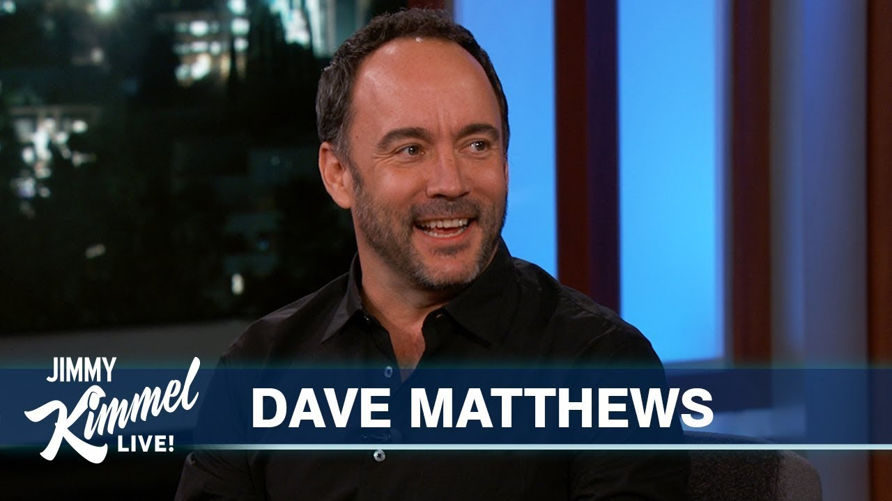 Dave Matthews on Friendship with Jennifer Aniston & Rock and Roll Hall of Fame Nomination