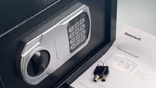 "[1176] Open in Seconds: Honeywell ""Steel Security Safe"" (Model 5101 DOJ)"