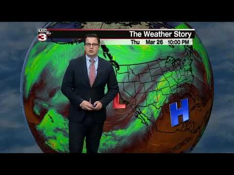 Daniel's weather forecast 03-26-20 10pm