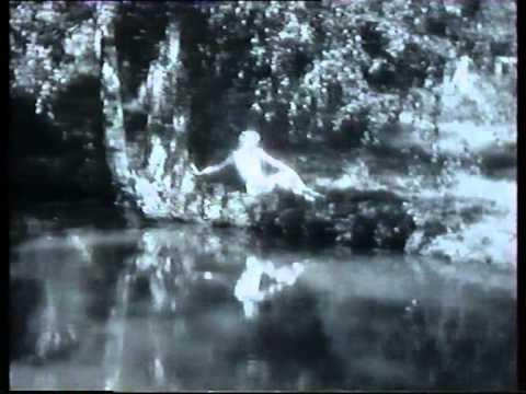 """Jacques Thibaud & Tasso Janopoulo """"La Fontaine d'Aréthuse"""" film version 1, 1936."""