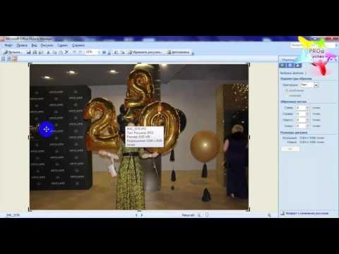 Два варианта обрезки фото с помощью программ Paint и Picture Manager