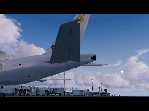 Airline2Stream 1 PMDG Boeing 777F Geneva - Djerba / No Comme