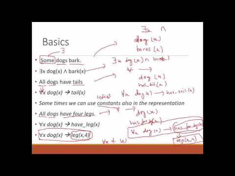 Inference in First Order Logic| Lecture 3
