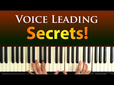 Smooth Chord Progressions: Secrets of Voice Leading
