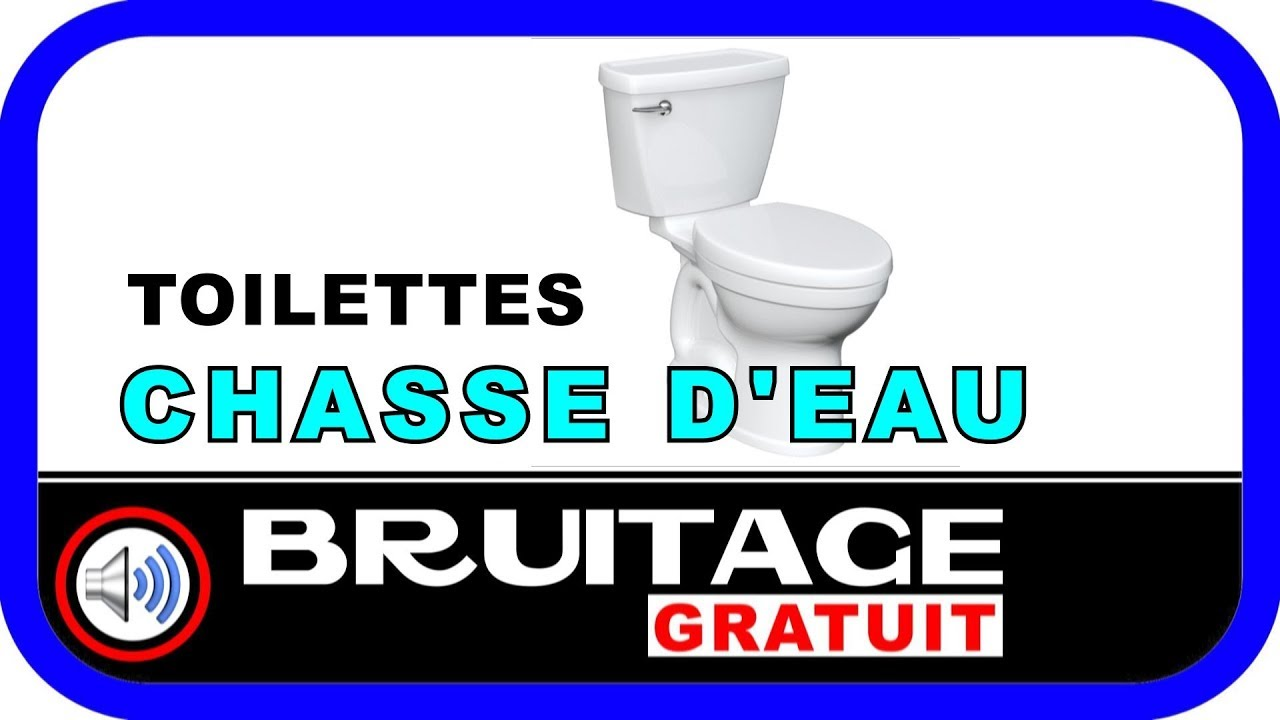 bruitage chasse deau