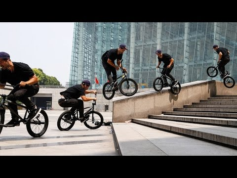 BMX's Garrett Reynolds Street Session in Shanghai