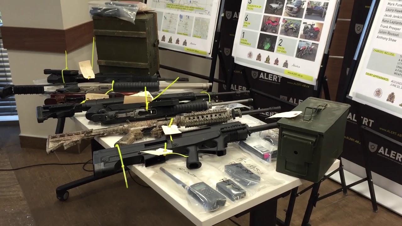 Ten arrests in Edmonton Hells Angels investigation