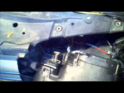 VW HID headlight troubleshooting - YouTube