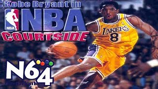 Kobe Bryant In NBA Courtside - Nintendo 64 Review - HD