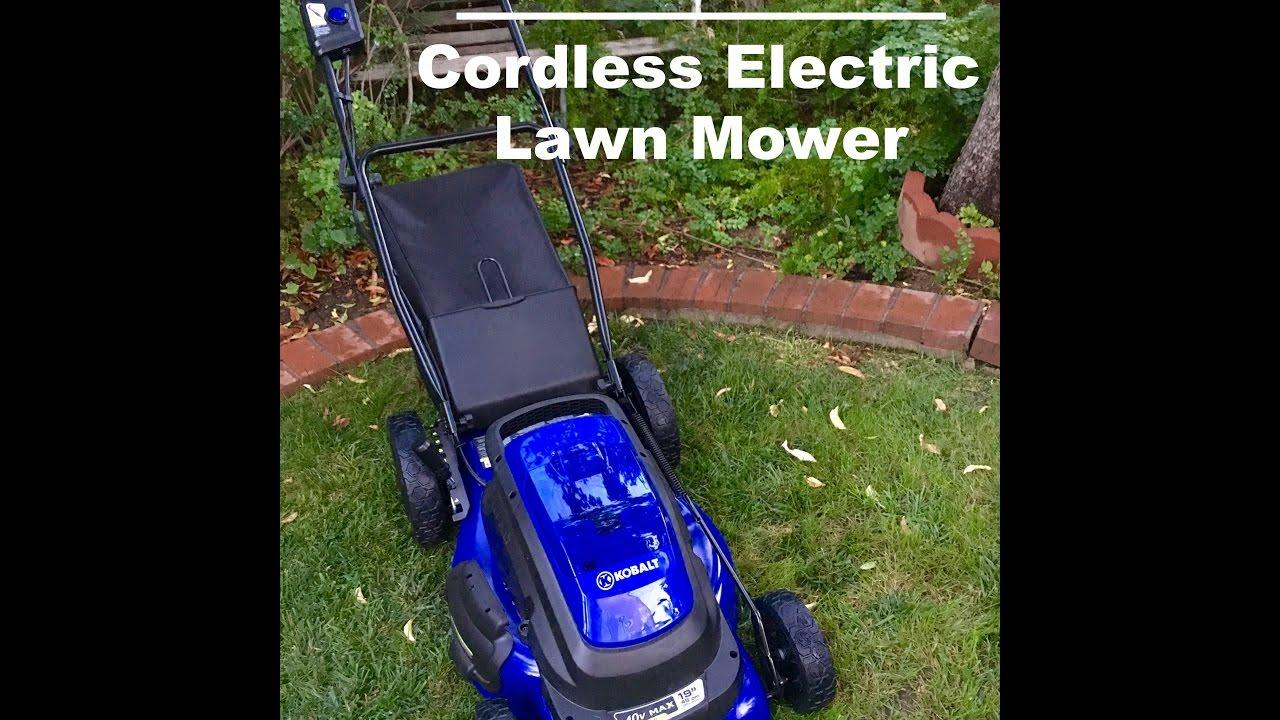 Kobalt 40V Cordless Lawn Mower