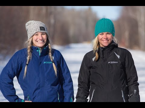 Wild and Free - Jessi Combs and Cynthia Gauthier Snowmobile in Northeastern Ontario