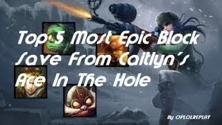 Top 5 Most Epic Block Saves From Caitlyn