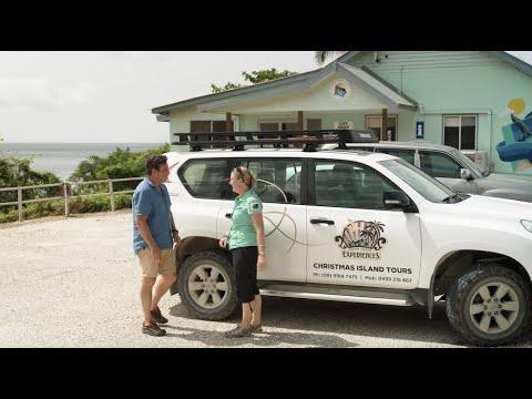 Touring on Christmas Island with Destination WA