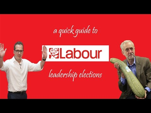 A quick guide to the Labour leadership election