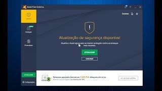 Vídeo Dica: Atualização do Antivirus Avast Free - Nível Básico