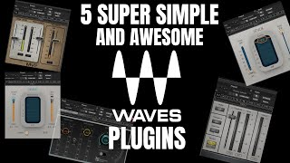 5 Super Simple & Awesome Waves Plugins