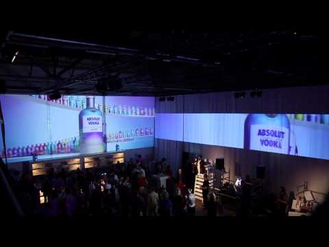 Absolut Vodka event by ACS audisovisual solutions  production by Stormchasers