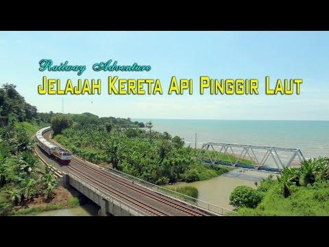 [HD] Jelajah Kereta Api Pinggir Laut Plabuan - Indonesian North Coast Railway