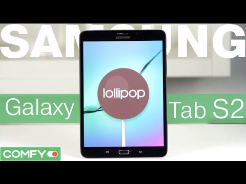 Samsung Galaxy Tab S2 8.0 - лучший планшет 2015 года - Видеодемонстрация от Comfy.ua
