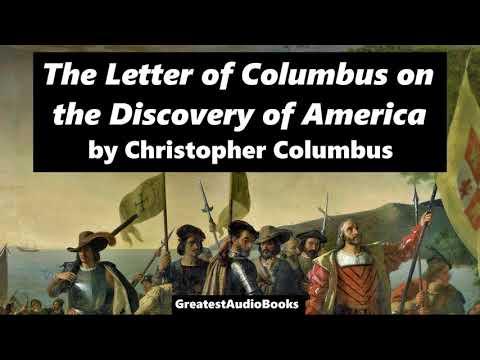 THE LETTER OF COLUMBUS ON THE DISCOVERY OF AMERICA - FULL AudioBook | GreatestAudioBooks