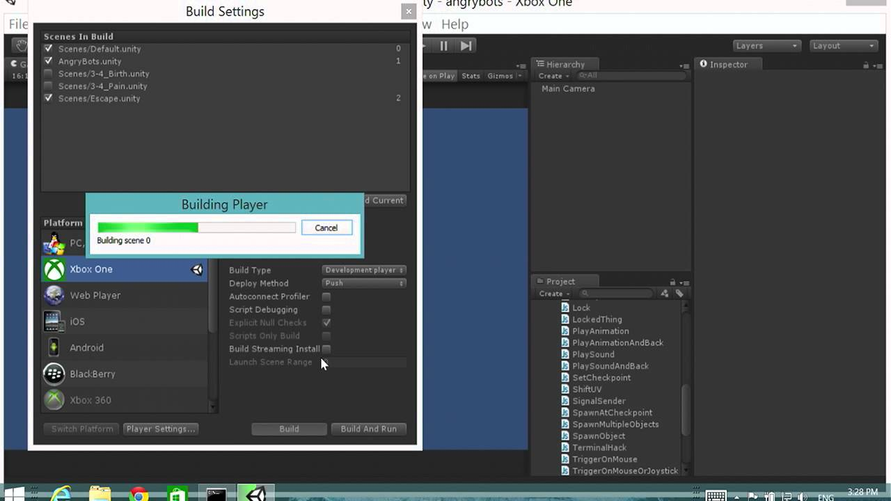 Unite 2014 - Using Unity to target Windows Phone, Windows Store and Xbox