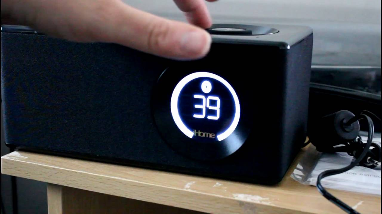 iHome FM Bluetooth Speaker with NFC
