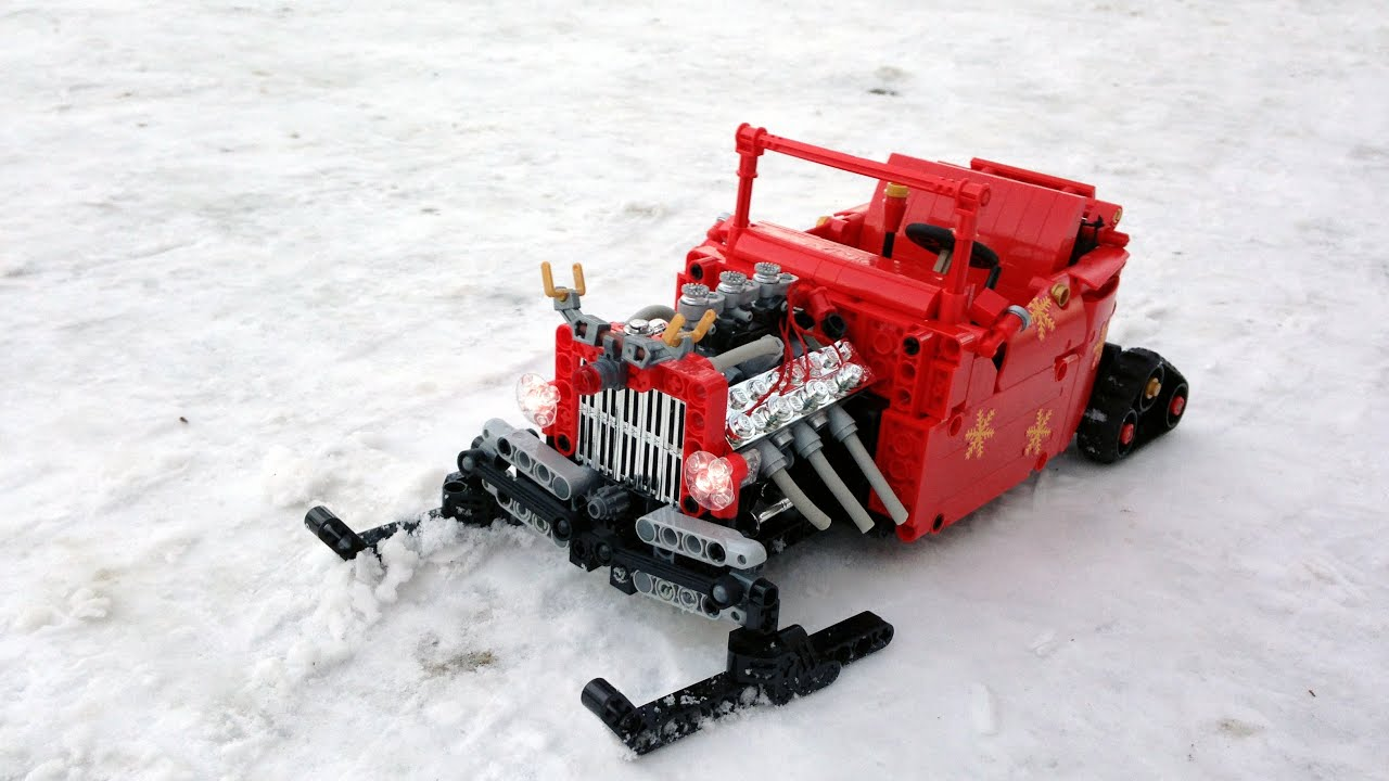 Lego Rc Moc Santa 39 S Rod A Special Kind Of Well Known