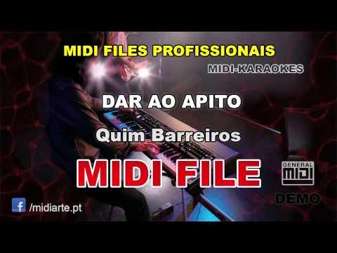 ♬ Midi file  - DAR AO APITO - Quim Barreiros