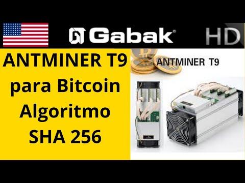 Antminer T9 Revision Minero Para Bitcoin Algoritmo SHA 256