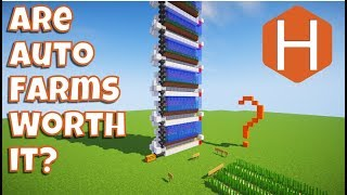 Should I build an Automatic sugar cane farm? Minecraft Tutorial