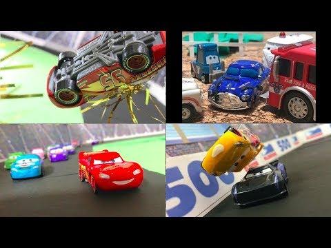 Summary : Stop Motion : Movie Cars 3 Reenactment : June 2019