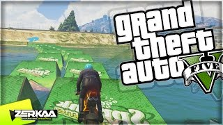 SLIPPERY WHEN WET | GTA 5 Funny Moments | E600 (GTA 5 PS4)