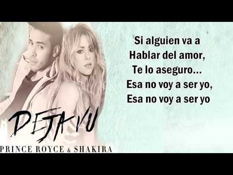 Prince Royce -Shakira & Deja vu (Letra)Dj.Ramón