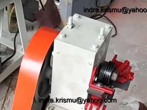 mesin pencacah bambu kotak type MSB-1