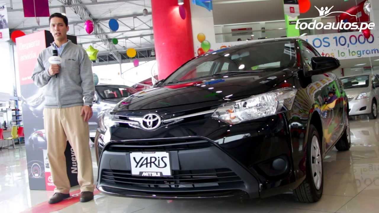 Toyota Yaris 2014 En Per 250 Video En Full Hd Todoautos
